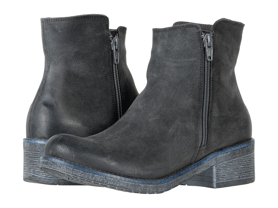 Naot Footwear Wander (Brushed Oily Midnight Suede) Women