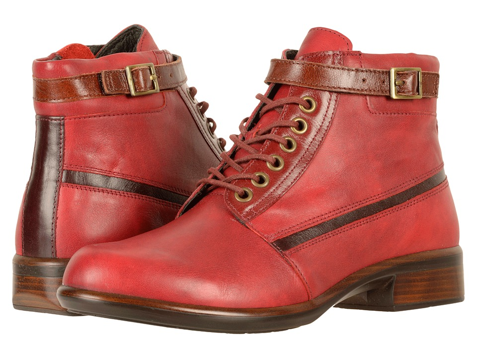 Naot Footwear Kona (Berry Leather/Rumba Leather/Violet Nubuck/Luggage Brown Leather) Women