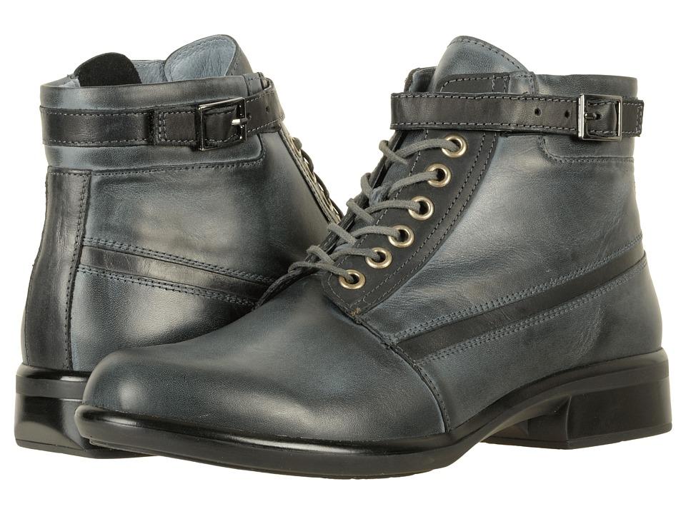 Naot Footwear Kona (Vintage Ash Leather/Black Combo) Women