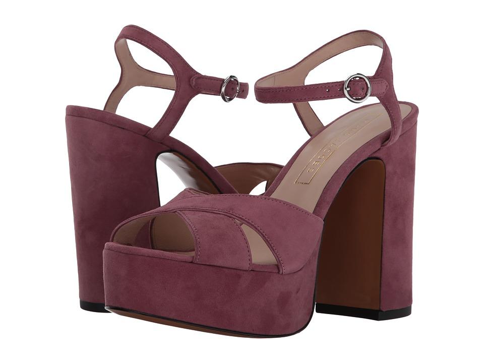 Marc Jacobs Lust Platform Sandal (Dusty Pink) Women