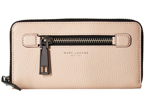 Marc Jacobs Gotham Continental Wallet - Pale Pink