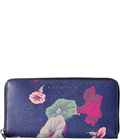 Marc Jacobs - Saffiano Morning Glories Standard Continental Wallet
