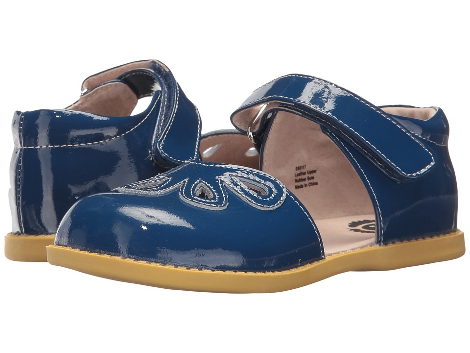 Livie + Luca Petal (Little Kid) (Dark Blue) Girl's Shoes