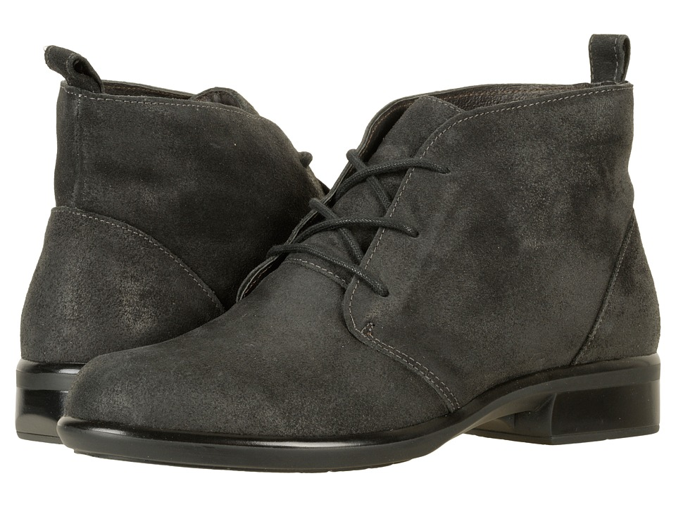 Naot Footwear Levanto (Brushed Oily Midnight Suede) Women