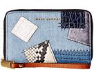 Marc Jacobs - Denim Patchwork Zip Phone Wristlet