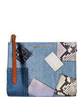 Marc Jacobs - Denim Patchwork Clutch Pouch