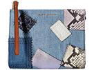 Marc Jacobs - Denim Patchwork Clutch Pouch