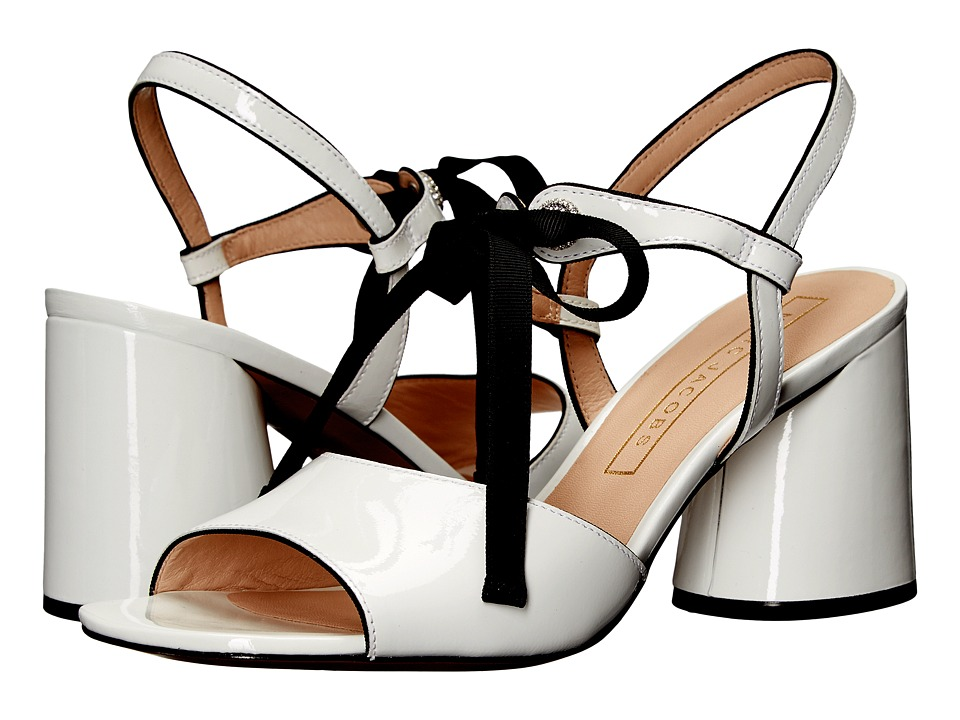 Marc Jacobs Wilde Mary Jane Sandal (White Patent) Women