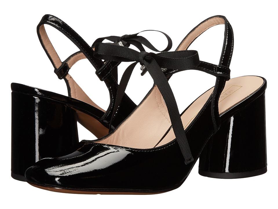 Marc Jacobs Bobbi Mary Jane Pump (Black Patent) High Heels