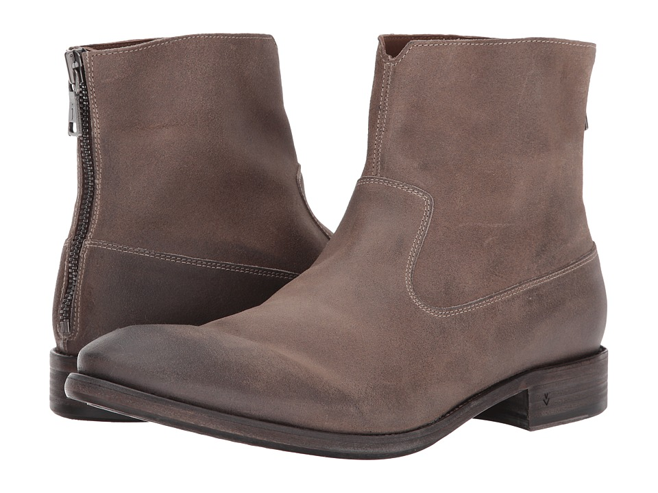 John Varvatos Sullivan Zip Boot (Light Brown) Men