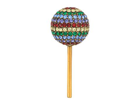Marc Jacobs Lollipop Brooch - Antique Gold
