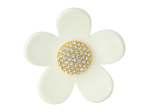 Marc Jacobs Daisy Sparkle Brooch - Blush Rose Multi