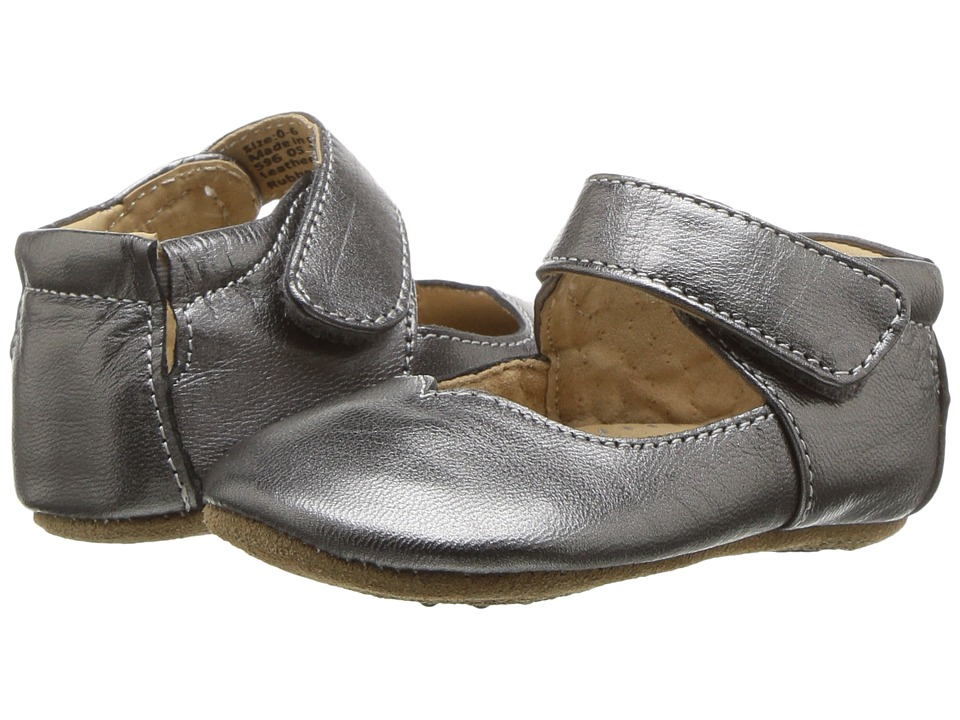 Livie + Luca Astrid (Infant) (Pewter Metallic) Girl's Shoes