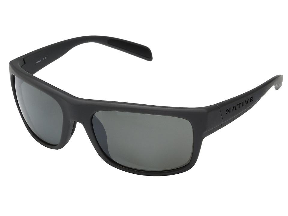 Native Eyewear Ashdown (Granite) Sport Sunglasses