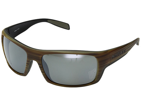 Native Eyewear Eddyline - Wood/Matte Black