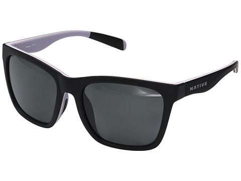 Native Eyewear Braiden - Matte Black/Blush/Violet