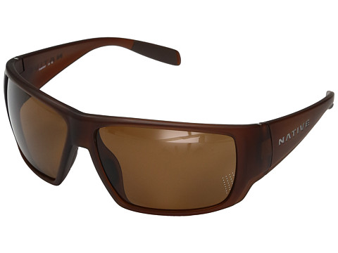 Native Eyewear Sightcaster - Matte Brown Crystal