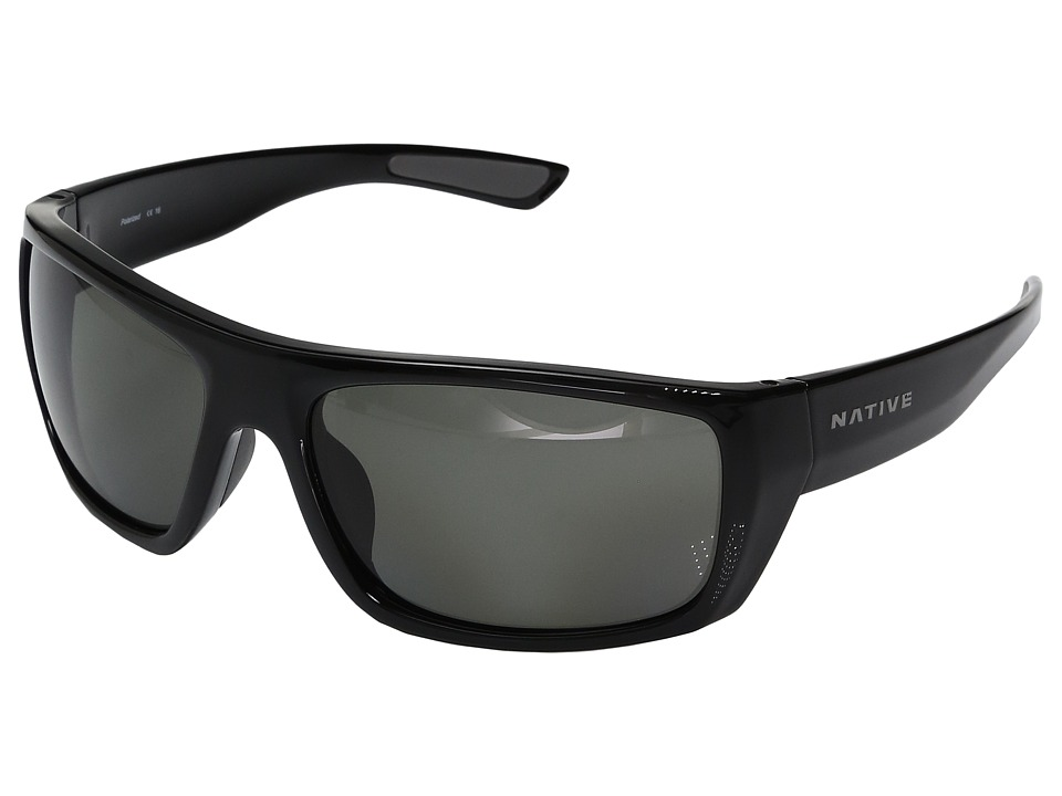 Native Eyewear Distiller (Gloss Black) Sport Sunglasses