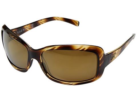 Kaenon Lunada - Striped Tort/Brown 12 Polarized Gold Mirror