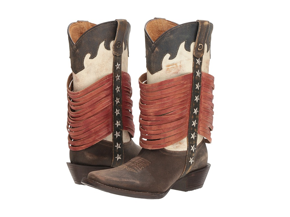 Durango Dream Catcher 12 Wrapped Fringe (Americana) Cowboy Boots