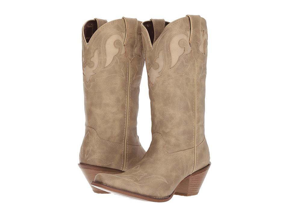Durango Crush 12 Collar Underlay (Taupe/Sand) Cowboy Boots