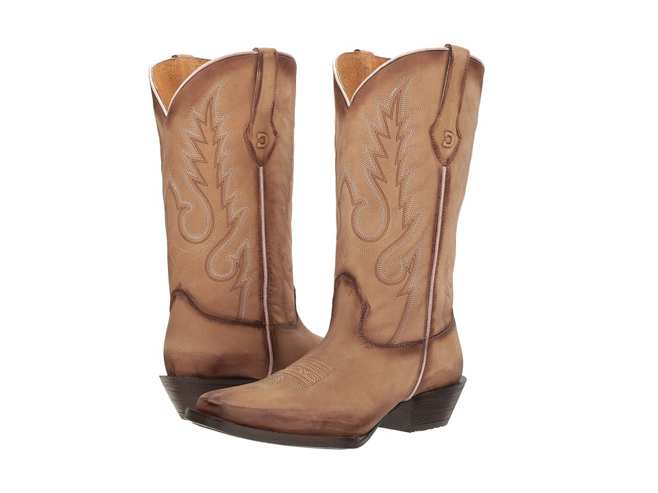 Durango Dream Catcher 12 Fancy Stitch (Desert/Sand) Cowboy Boots