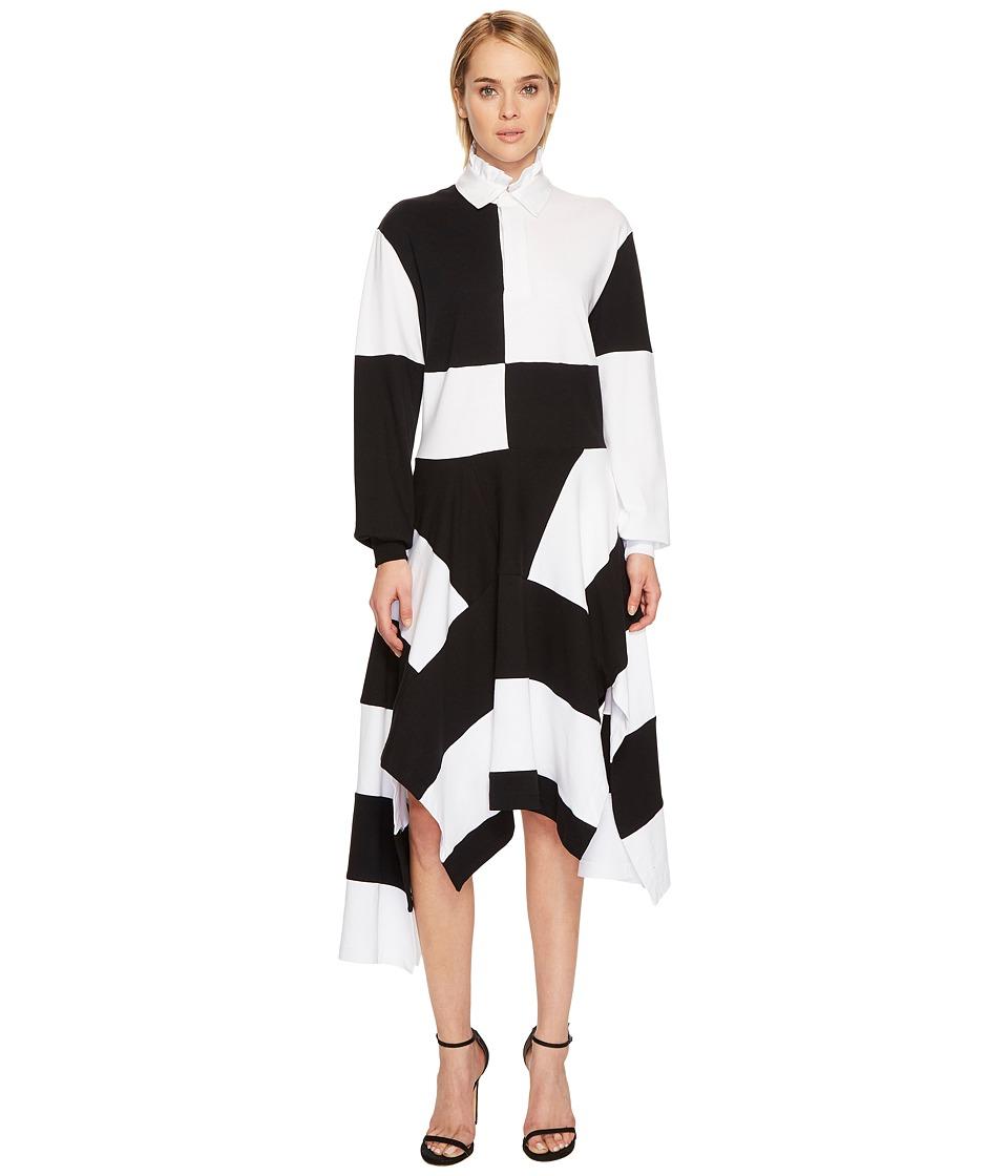 Preen by Thornton Bregazzi Annette Dress (Black/White) Women