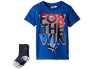 Puma Kids - Puma® Graphic Tee & Sock Set (Little Kids/Big Kids)