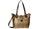 Trading Post Convertible Zip Top Bucket Tote