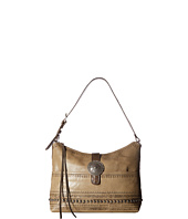 American West - Trading Post Large Zip Top Shoulder Bag