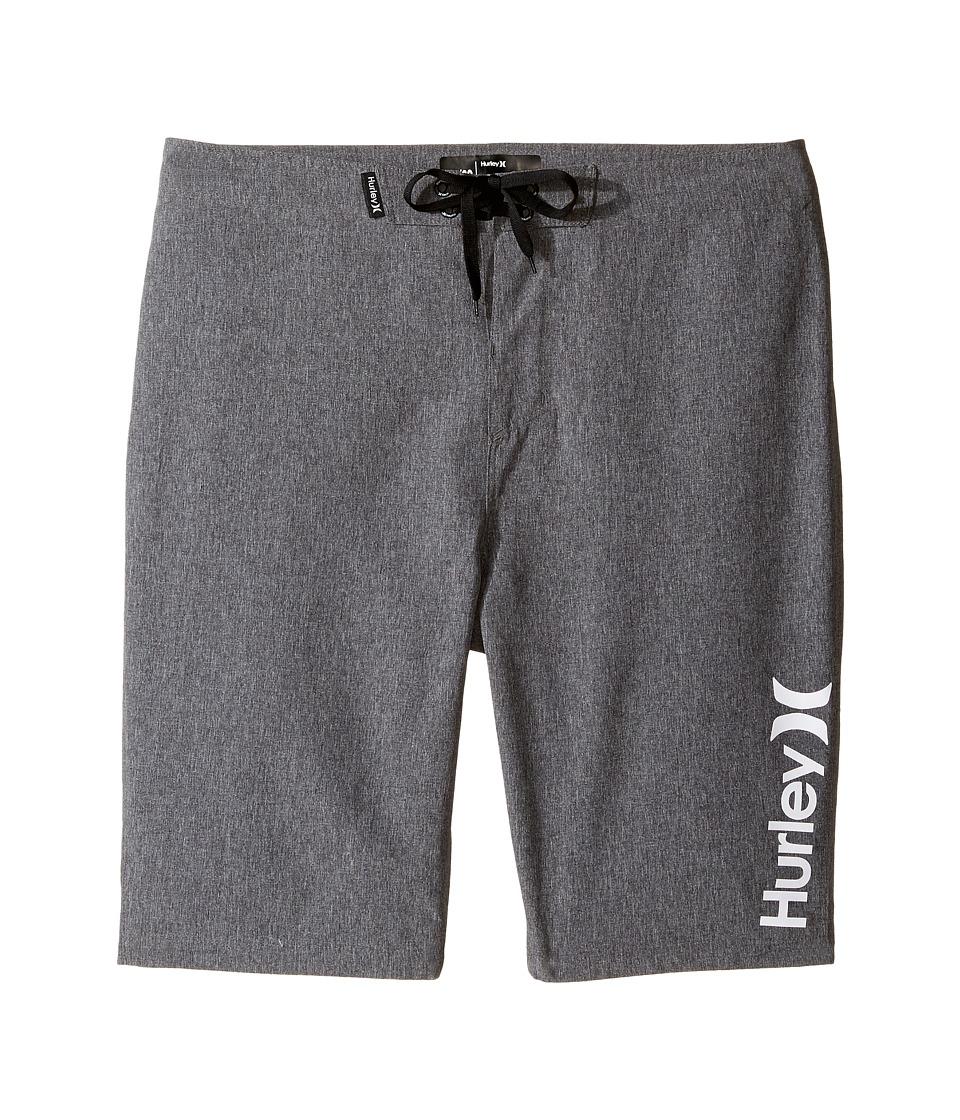 Hurley Kids Heathered Boardshorts (Big Kids) (Black Heather) Boy