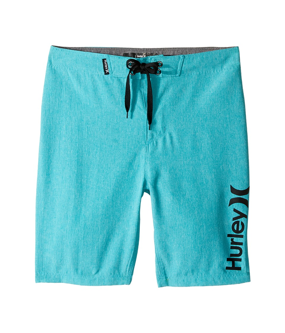 Hurley Kids Heathered Boardshorts (Big Kids) (Dusty Cactus Heather) Boy