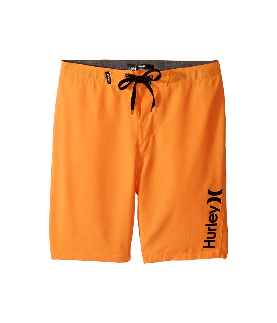 Hurley Kids Heathered Boardshorts (Big Kids) (Bright Citrus Heather) Boy