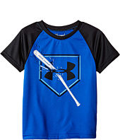 Under Armour Kids - Breaking Bat Raglan Short Sleeve (Little Kids/Big Kids)