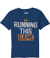 Under Armour Kids - Running This Game Short Sleeve (Little Kids/Big Kids)