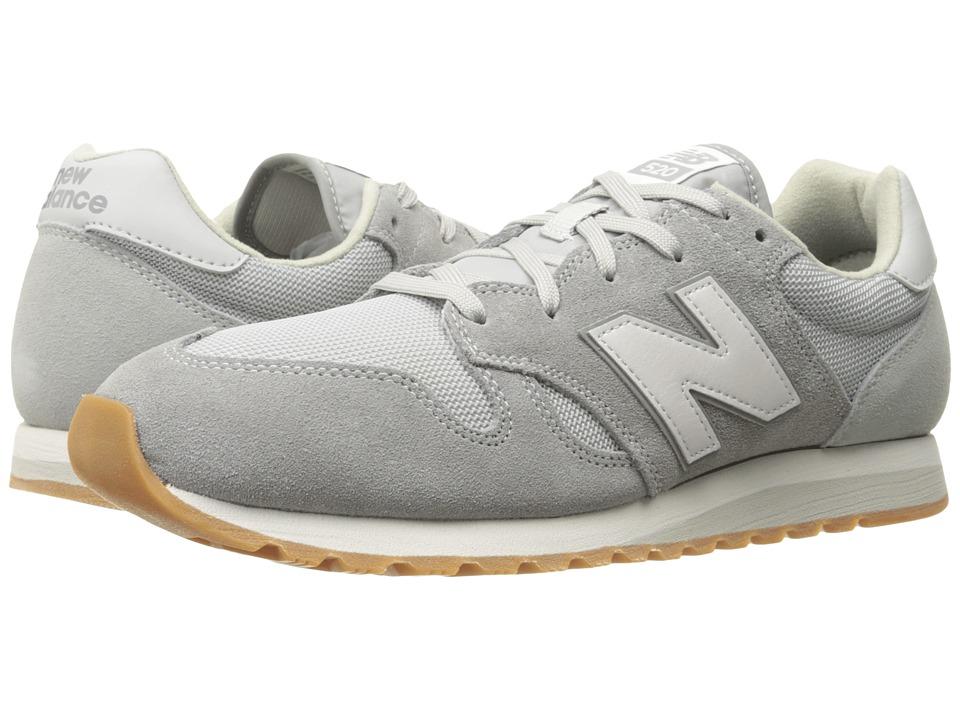 New Balance Classics - U520 (Cool Grey) Athletic Shoes