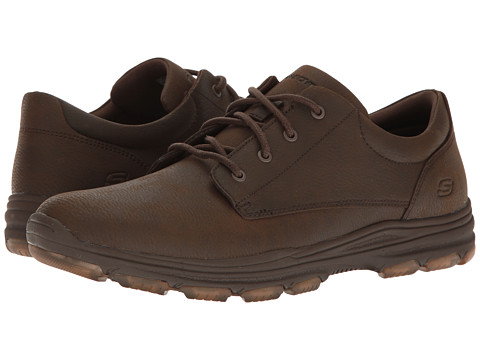 SKECHERS Classic Fit Garton - Modesto - Cocoa Leather