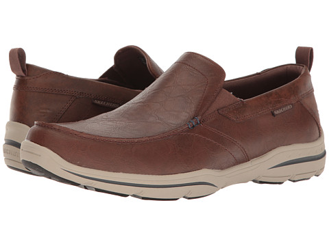 SKECHERS Relaxed Fit Harper - Forde - Chocolate Leather