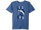 Life is Good Kids Shark Crusher Tee (Little Kids/Big Kids)