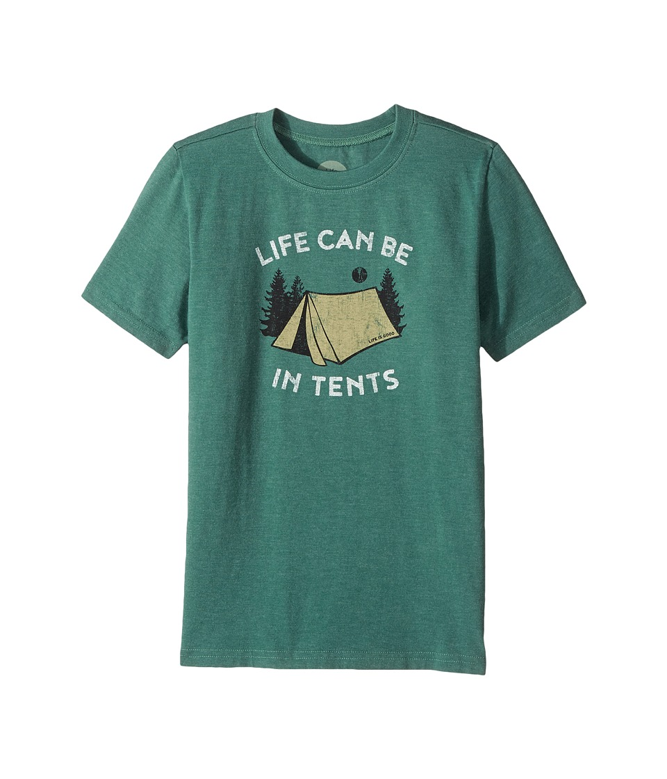 Life is Good Kids - Life Can Be In Tents Crusher Tee