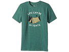 Life is Good Kids Life Can Be In Tents Crusher Tee (Little Kids/Big Kids)