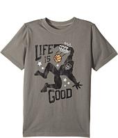 Life is Good Kids - Monster Dunk Crusher Tee (Little Kids/Big Kids)