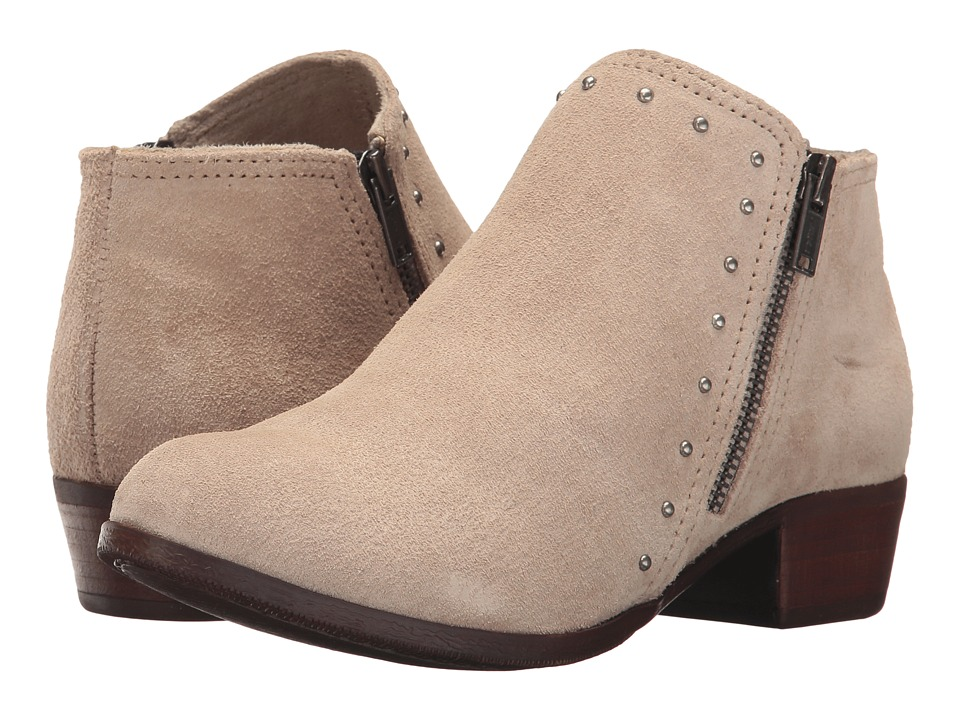Minnetonka Brie Boot (Stone Suede)