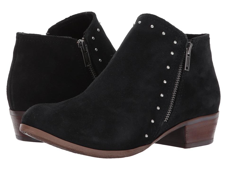 Minnetonka Brie Boot (Black Suede) Women