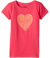 Life is Good Kids - Heart Flowers Crusher Tee (Little Kids/Big Kids)