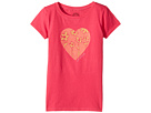 Life is Good Kids Heart Flowers Crusher Tee (Little Kids/Big Kids)