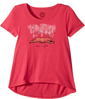 Life is Good Kids - Butterfly Bear Scoop Neck Swing Tee (Little Kids/Big Kids)