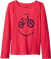 Life is Good Kids - BMX Smile Long Sleeve Crusher Tee (Little Kids/Big Kids)
