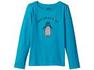 Life is Good Kids Ice Daisy Penguin Long Sleeve Crusher Tee (Little Kids/Big Kids)