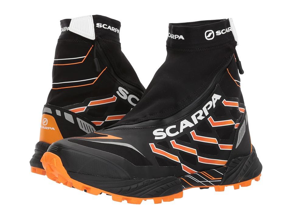 Scarpa - Neutron G (Black/Orange) Mens Shoes